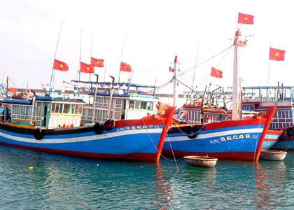 Thuyền đánh cá của ngư dân Việt Nam. Ảnh minh họa/internet.