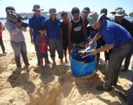 Hưởng ứng chương trình Rừng Ngập Mặn cho tương lai MFF- MCD cùng Nhơn Hải bảo vệ rạn san hô và môi trường biển ứng phó với biến đổi khí hậu