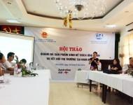 Hội thảo quảng bá sản phẩm sinh kế thích ứng BĐKH và kết nối thị trường tại Nam Định