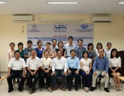 Khóa tập huấn: Nâng cao năng lực nghiên cứu biến đổi khí hậu cho các tổ chức phi chính phủ (NGO) tại Việt Nam.