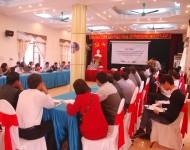 Hội thảo: Tuyên truyền phổ biến luật phòng chống thiên tai và vận động lồng ghép giảm nhẹ RRTT và thích ứng BĐKH vào kế hoạch phát triển KT – XH cấp tỉnh