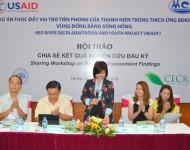 Hội thảo chia sẻ kết quả nghiên cứu đầu vào huyện Tiền Hải
